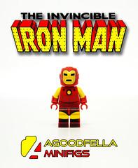 Iron Man (Classic) v.2 [MOC] [COMICS] (agoodfella minifigs) Tags: lego marvel marvellego legomarvel minifigures marvelcomics comics heroes legosuperheroes legomarvelsuperheroes legoavengers legoironman minifigure moc marvelheroes ironman tonystark