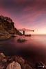 Dicido sunrise (Caramad) Tags: mar color sunset olas ©camadats puestadesol rocas agua longexposure wave sol luz sea costa landscape seascape rocks marcantábrico españa playa
