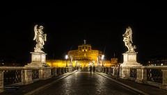 Castel Sant'Angelo, Rome (Torbjørn Tiller) Tags: castelsantangelo rome engleborgen redmatrix symmetry