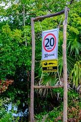 20161224 049 Cozumel Punta Sur Warning Sign (scottdm) Tags: 2016 cozumel december ecopark mexico puntasur quintanaroo sign warningsign winter mx