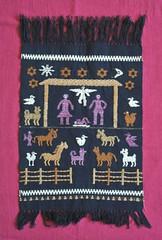 Weaving Belen Nacimiento Christmas Oaxaca (Teyacapan) Tags: mexican weavings tejidos mixtec pinotepadedonluis belen nacimiento nativityscene bethlehem manger