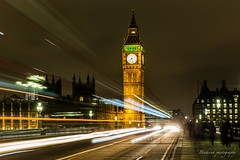 Westminster by night - London (Bouhsina Photography) Tags: pont big ben bigben parlement londres england bouhsina bouhsinaphotography long exposition filet lumière angleterre westminster canon 5diii ef2470