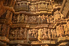 A wall of Khajuraho temple (Bhaskar Dutta) Tags: wall temple khajuraho madhya pradesh tourism india unesco heritage archaeology sculptures erotic lakshmana kandariya mahadev