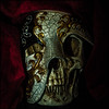 2017-001 The Masque of the Red Death (Darren Wilkin) Tags: masqueofthereddeath 2017 oneaday mask skull 365