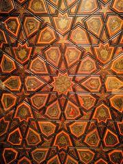 Symbolism taken to infinity (mikkelfrimerrasmussen) Tags: islam symbolism mosaic mosaik god greatness infinity wooden door repetition iteration recursion