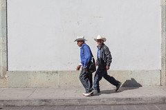 The Streets, Oaxaca (Geraint Rowland Photography) Tags: hats men mexicans mexicanmen portraits candid streetphotographyinoaxaca oaxaca whitewalls walk oaxacacity geraintrowlandphotography travel
