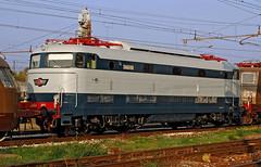 FS E444 001 (maurizio messa) Tags: prototype prototipo e444 e444001 tartaruga lombardia milanosmistamento mau bahn ferrovia treni trains railway railroad nikond40x