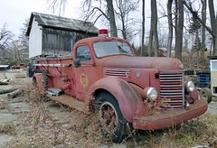 Engine 46 ~ Tyrone Fire Department (Ed_PFF) Tags: international fireengine tyronefiredepartment old antique rusty fingerlakes