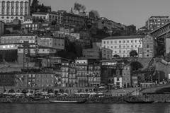 (1/12: Ansel Adams) Cityscape (ponzoñosa) Tags: ansel adams porto portugal oporto bn bw douro duero vila nova gaia riverside cityscape monthly