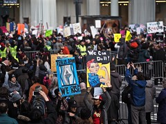 We Rise (Professor Bop) Tags: womansmarch resist taketothestreets trump usa protest olympusem1 newyorkcity 400000marchers stoptrump antitrump protesters womensmarch