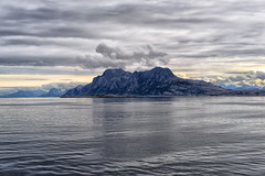Cruising to Lofoten (marko.erman) Tags: cruising island ferry sea horizon lofoten norway sony bodo moskenes