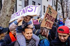 Women's March on NYC (mathiaswasik) Tags: 2017 nyc newyork protest trump usa womensmarch unitedstates us