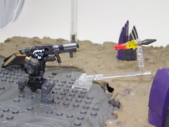 ODST drop in 3... 2... 1... (Nilbog Bricks) Tags: halo mega construx bloks moc minifigures minifig custom battlescape covenant unsc wars war battle alien