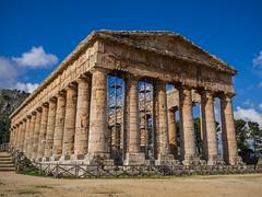 Segesta-4 (aramshelton) Tags: sicily greek greektemple ancient goldenhour