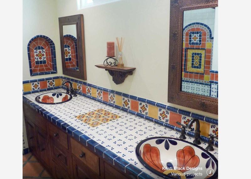 Pin cocina de talavera on pinterest for Azulejos para cocina mexico