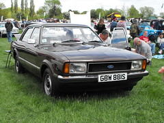 Ford Cortina - GBW 881S (Andy Reeve-Smith) Tags: ford cortina buckinghamshire aylesbury weedon mk4 chilternhillsvintagevehiclerally