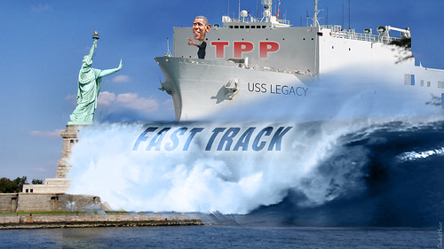From flickr.com/photos/47422005@N04/18472217134/: Barack Obama - TPP Legacy, From Images