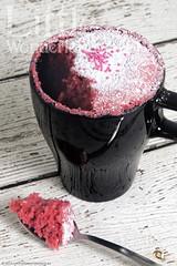 Mug cake de frambuesa / Raspberry mug cake (www.littlewonderland.es) Tags: pink cake recipe rosa mug raspberry taza receta bizcocho frambuesa easyrecipes mugcake recetasfciles littlewonderland reposteracreativa
