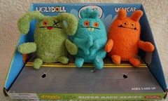 Uglydoll Tiny Plush Toys Samples - David Horvath (jcwage) Tags: oneofakind ox prototype sample target tray uglydoll rare uglydolls icebat babo jeero wage gund babytoy horvath wedgehead davidhorvath sunminkim babosbird giantroobot