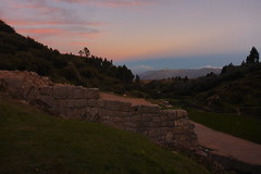 Tambomachay (MichelleLegere) Tags: sunset peru southamerica inca cuzco cusco inka tambomachay tampumachay