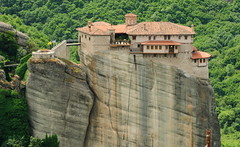 Commanding attention (debceenez) Tags: world heritage site unesco greece monks meteora monasteries kalampaka kastraki