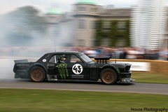 Ken Block Mustang * ({House} Photography) Tags: goodwood festival speed motor show car automotive chichester westsussex housephotography timothyhouse hill climb motorsport racing ford mustang ken block hoonicorn modified burnout smoke worldcars