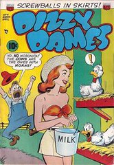 Dizzy Dames 4 (Michael Vance1) Tags: woman art girl comics funny comedy artist humor adventure fantasy comicstrip cartoonist goodgirlart