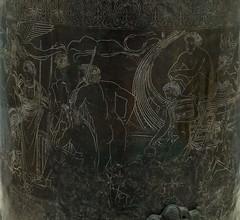 """The Ficoroni Cista - II (Egisto Sani) Tags: rome roma art arte athena argonauts castor novios etruscan orpheus kastor orfeo heracles palestrina atena etrusca castore eracle cista """"villa """"museo echion giulia"""" plautios erytos amycos etrusco"""" amykos argonauiti """"cista ficoroni"""" """"ficoroni cista"""""""