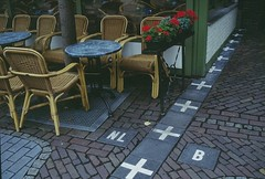 Netherlands-Belgium border town 2