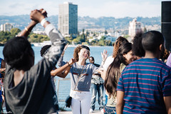 (Crillmatic) Tags: california summer people kids landscape oakland babies unitedstates dancing outdoor candid families strangers lakemerritt fourthofjuly 4thofjuly individuals