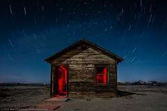 A Firm Stance (dejavue.us) Tags: california ranch longexposure nightphotography lightpainting abandoned nikon desert shed fullmoon shack nikkor antelopevalley av startrails mojavedesert d800 outbuilding 1835mmf3545d vle