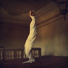 house of solitude (brookeshaden) Tags: castle solitude surrealism fineart grand mansion southoffrance salernes whimsical bedsheet brookeshaden jenbrook chateaumoissac makeshiftdress