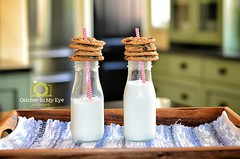 30/52 Theme: Stack (Catcher In My Eye) Tags: cookies stack milkbottles