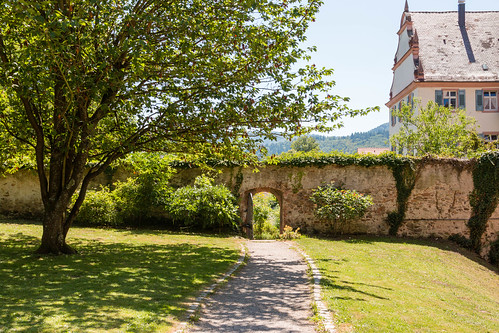 Jardin de l'abbaye de Gengenbach