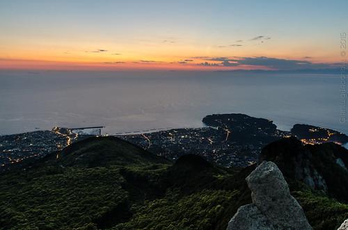 Panorama dalla cima del monte Epomeo - Ischia 2015