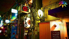 Tokyo=89=Shinjuku Golden Gai (tiokliaw) Tags: world city blue friends holiday colour reflection travelling beautiful beauty japan digital photoshop buildings wonderful island tokyo interestingness interesting fantastic nikon scenery holidays colours exercise earth expression awesome perspective entrance images explore walkway winner greatshot historical imagination sensational digitalcamera recreation greetings colourful dslr discovery hdr finest overview joyride creations excellence infocus addon highquality inyoureyes teamworks digitalcameraclub supershot recreaction hellobuddy inyoureye iloveyourart mywinners worldbest anawesomeshot colorphotoaward aplusphoto flickraward almostanything thebestofday flickrlovers sensationalcreations blinkagain burtalshot