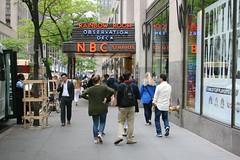 Rainbow Room Observation Deck (Brian Aslak) Tags: street city nyc newyorkcity people urban usa newyork unitedstates manhattan rockefellercenter midtown northamerica metropolis neonsign nbcstudios rainbowroom observationdeck 49thstreet