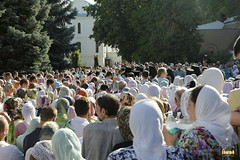 79. The blessing of water on the day of the Svyatogorsk icon of the Mother of God / Водосвятный молебен в день празднования Святогорской иконы Божией Матери