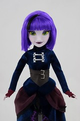 Disney Parks Attractionista Dolls - Disneyland Purchases - Gracey (Haunted Mansion) with Hat - Deboxed - Standing - Midrange Front View (drj1828) Tags: standing us doll disneyland haunted mansion purchase 12inch 2015 gracey disneyparks deboxed attractionista
