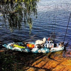 My ride. #jc1scastaway #feelfree #feelfreekayak #feelfreelure #feelfreeus #kayakfishing #powerpole #daiwausa #zilliontws #hammerrods #FSACustomRods
