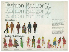 1971 Barbie Talk Magazine fashions (ModBarbieLover) Tags: 1971 mod doll ken barbie fashions