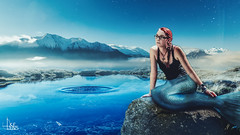 Mermaid (Ukelens) Tags: ukelens photoshop photoshooting schweiz shadow shadows lightroom light lights licht lichter lighteffects lichteffekt lighteffect moon moonlight mond mondlicht mondschein vollmond berge mountain mountains bergsee see lake night nacht