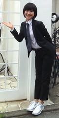 Miori Takimoto (bof352000) Tags: woman tie necktie suit shirt fashion businesswoman elegance class strict femme cravate costume chemise mode affaire