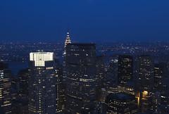 NH0A6285s (michael.soukup) Tags: newyork newyorkcity skyline manhattan empirestate chryslerbuilding rockefeller worldtradecenter cityscape sunset dusk skyscraper citylights architecture midtown 30rock tower bluehour night nyc building outdoor city timesquare
