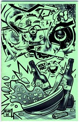 """Solo ASC/DCV's new zine, """"SOLO O's"""", 2016 (fotoflow / Oscar Arriola) Tags: solo rn zine zines graffiti drawing art artwork sketch sketchbook hiphop history december 2016 chicago il illinois midwest us usa united states america american character characters"""
