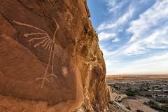 "An oldie but a goodie - ""The Phoenix"" (Stephen Oachs (ApertureAcademy.com)) Tags: crane phoenix petroglyph"
