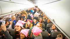 2017.01.20 Alaska Air Flight 6 in Pink LAX-DCA 00045