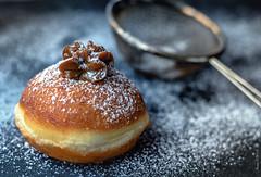 Chanukkah-10 (Irena_ka) Tags: evgeniagrande jenia chanukah donats food foodphotography holidays jewishholidays sufgania sufganiyot