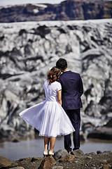 Ben & Man Ling (LalliSig) Tags: pre wedding photographer iceland landscape people portrait portraiture blurry backround