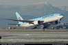 Korean Air B772 HL7598 ($and$man) Tags: vancouver cyvr yvr takeoff aircraft airplane boeing korean air 777 hl7598 skyteam